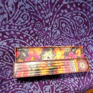 NIB NWT Vera Bradley 10 count pencil set
